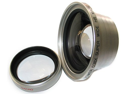 (Bower 46mm 0.38x Super Wide Angle Lens with)