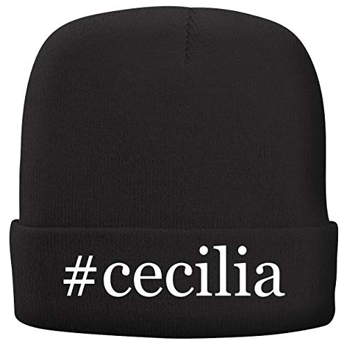- BH Cool Designs #Cecilia - Adult Hashtag Comfortable Fleece Lined Beanie, Black