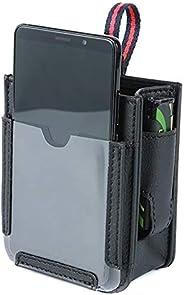 CNSELLER Bolsa de armazenamento para saída de ar do carro, suporte para celular, organizador de bolso para sup