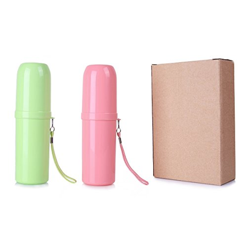 Eunion Plastic Basic Candy Toothbrush Holder/Case for Travel