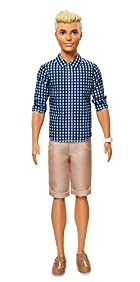 Barbie Ken Fashionistas Preppy Check Doll, Original
