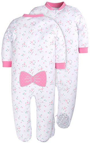 SH Unisex Baby Rompers Lovely Toys Pattern Bodysuits Footed Baby Pajamas of Leisure Wear Newborn Sleepers Onesies