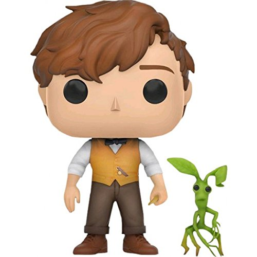Funko Pop! Fantastic Beasts Newt Scamander & Picket Exclusive Vinyl (Beast Vinyl Figure)