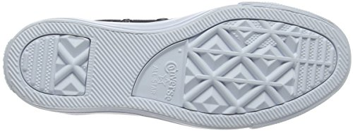 Converse Chuck Taylor all Star, Sneaker a Collo Alto Unisex-Adulto Schwarz (Black/Black/Pure Platinum)