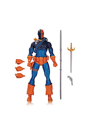 DC Collectibles DC Comics Icons: Deathstroke from Teen Titans: The Judas Contract Action Figure (Batman Icon)