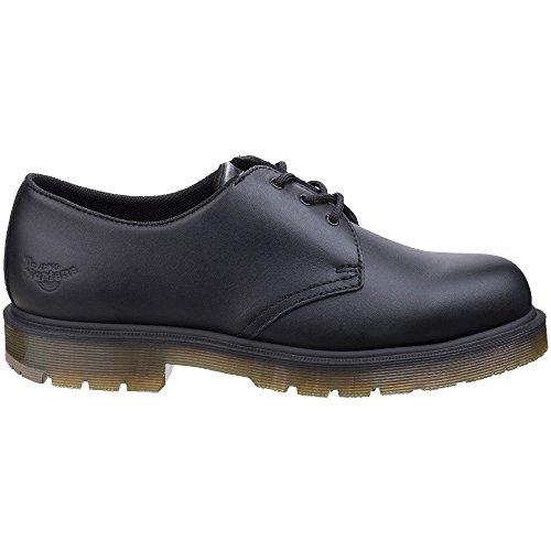 Dr. Martens Unisex-adulto Arlington Ns Ns 3 Eye Shoe Nero Pieno Fiore Industriale