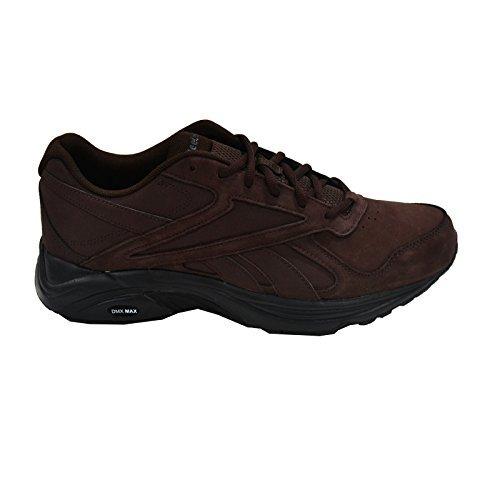 fe275c0f533b65 Reebok Mens Walk Ultra V DMX Max Walking Shoe (Brown