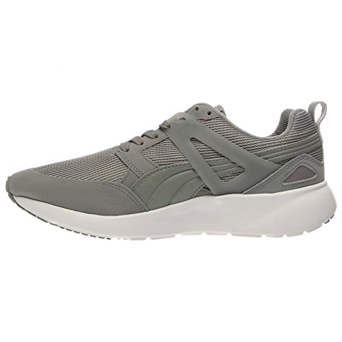 Puma Arial Lona Zapatillas Limestone Grey/Dark Shadow
