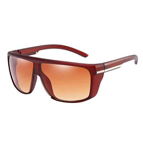 Cadeau Lunettes Sunglasses Conduite de des Lunettes Sport Sunproof Plein Coupe Personnalité pour Soleil Air Garçons vent Hommes Mens en Tea Zhuhaitf w8qaxEBn