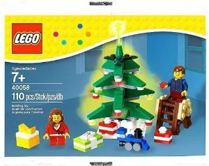 Lego (Lego) 40058 Decorating the Tree Set 110 Pc. Holiday 2013 block toys (parallel - Tree Lego Decorations Christmas