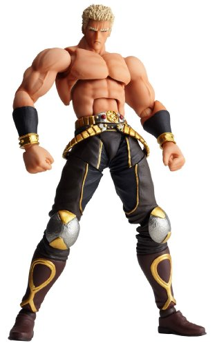 Fist of The North Star: Revoltech Revolution Series No.013 Raou Final Battle Ver. PVC Figure by Kaiyodo (Ver Pvc Figure)