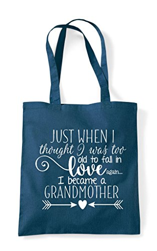 Old A Tote Thought Love Too Petrol Grandmother When I Became Fall Bag In To Just Was Shopper OABXPnxq