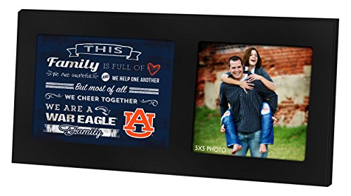 "KH Sports Fan 1003100114 16""X8"" Auburn Tigers Family Chee..."