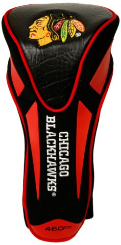 Team Golf NHL Chicago Blackhawks Golf Club Single Apex Driver Headcover, Fits All Oversized Clubs, Truly Sleek ()