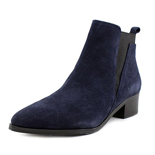 Marc Fisher Womens Ignite Double Gore Bootie Navy