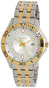 CARAVELLE Men's 45B151 Analog Quartz Multicolour Watch