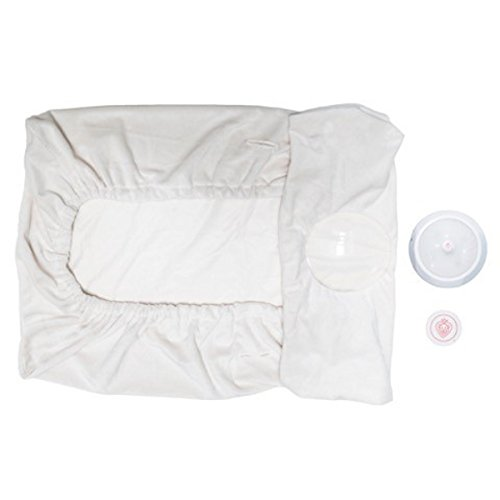 Prince Lionheart IllumiPAD Changing Pad Conversion Kit, Cream