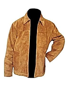 Classyak Men's Fashion Suede Leather Stylish Jacket