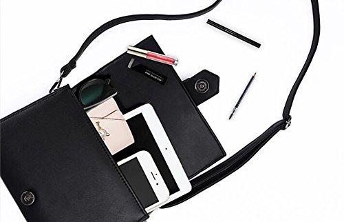 señoras del de bloqueo pequeño cuadrado paquete retro salvaje Bolso bolsas Las de Bandolera personalidad A D para hombro niñas d5Bx1B