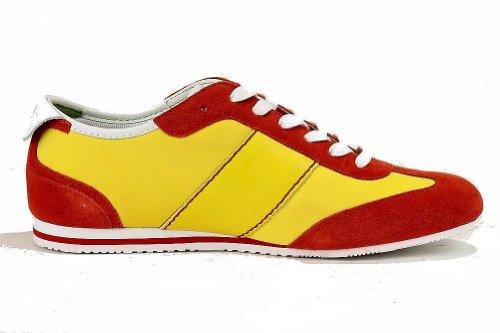 Hugo Boss Mens Fifa World Cup Light Ness 50261722 Fashion Sneaker Schoenen (10, Spanje - Medium Geel)