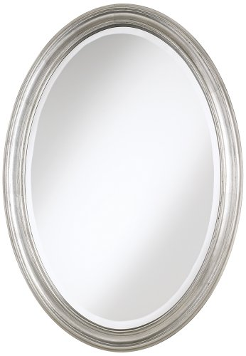 Oval Antique Finish (Flanders Antique Silver Finish Oval 34