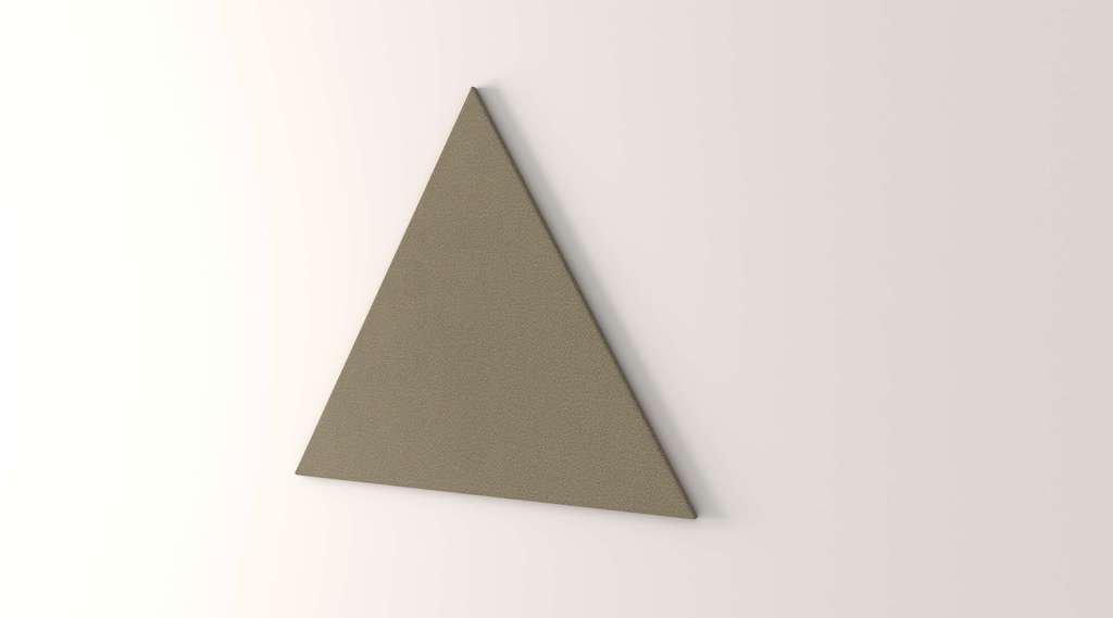 Obex 48-TB-T-VE 48'' Obex Triangle Tackboard, Verde, 48''