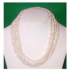 17264901418a Set Collar Pulsera Aretes Con Perlas Cultivadas Negras A063  Amazon ...