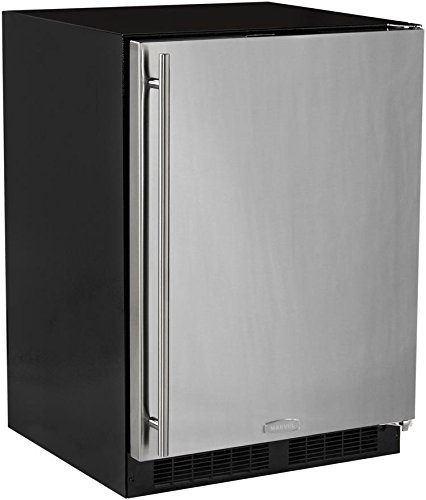 AGA Marvel ML24RAS1RS Refrigerator, Right Hinge Stainless Steel Door, 24-Inch