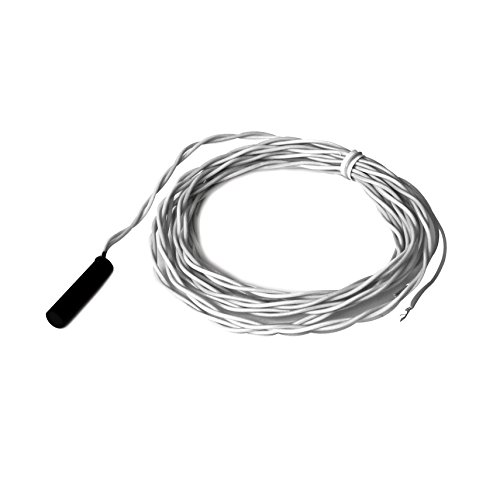 A/1K-NI-W 6' | ACI | RTD 1000 ohm (Nickel) | Raw Potted Plastic Temperature Sensor Cheap Inexpensive Low Cost | Included Wire Length: 6 feet - Niw Niw