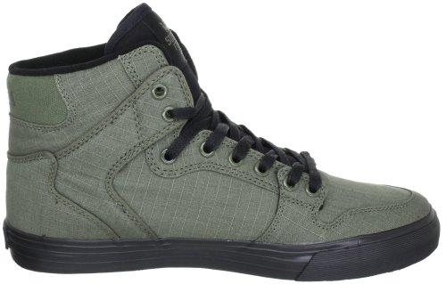 Supra VAIDER S28058 - Zapatillas de deporte de cuero para hombre gris