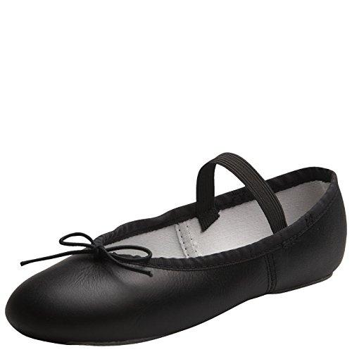 American Ballet Theatre for Spotlights Girls Black Ballet Shoe 4.5 M US
