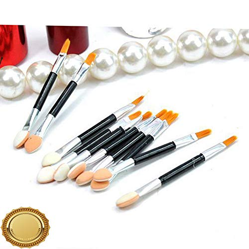 (Gatton New Arrival Womens Hot Beauty Tools 10 Loaded Double Eye Shadow Brush Lip Brush | Style MKPBRUSH-21181695)