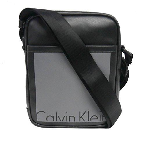 Calvin Klein CK Jeans Cruise Reporter - Bolso reporter para hombre Black/Castlerock