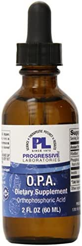 Progressive Laboratories - OPA Orthophosphoric Acid 2 Ounces