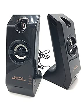 2 altavoces altavoces 400 Watts para PC Ordenador Portátil Escritorio: Amazon.es: Informática