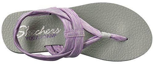 Open Toe Meditation Sandals nbsp;Studio Lavender Women's Kicks Skechers awvn8fzqx