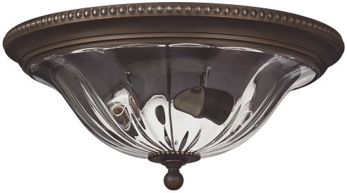 Hinkley 3616OB Traditional Two Light Flush Mount from Cambridge collection in (Hinkley Oxford Collection)