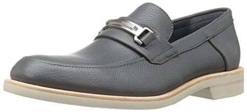Calvin Klein Men's Yannie Oxford, Grey, 8.5 M US by Calvin Klein