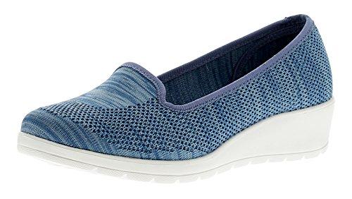Bleu Femmes Carnation 7 Femmes Feet Chaussures Pour Pour Tailles 3 Compensées Heavenly Bleu p0wTz4xqa