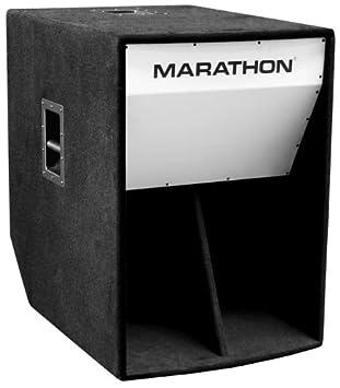 Amazon.com: Marathon Ml-36 Folded Horn 18-Inch High Power Bass ...