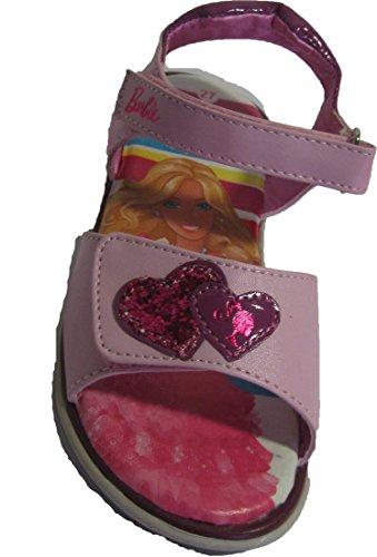 Sandales roses Barbie pour filles