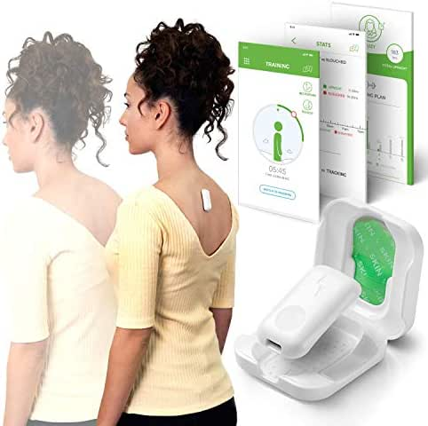 Upright GO 2 NEW Posture Trainer and Corrector for Back   Strapless, Discreet and Easy to Use   Complete with App and Training Plan   Back Health Benefits and Confidence Builder
