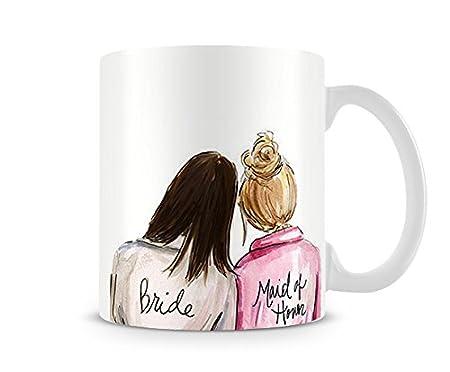 Hiros Bridesmaid 11oz Gift Mug Gift For Her Gift For Sister