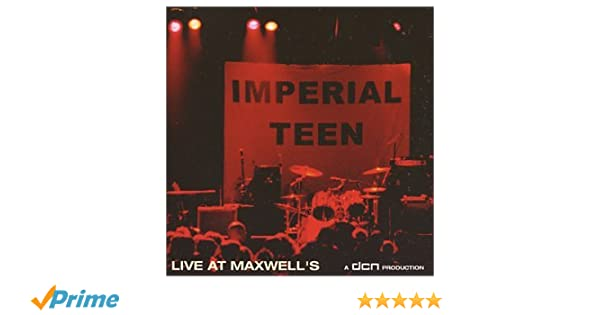 imperial teen live at maxwells