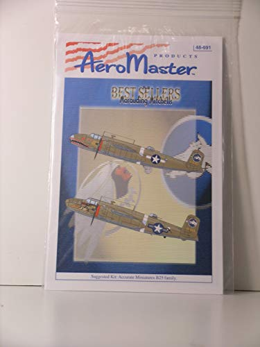 Used, AeroMaster Decals 1/48 Scale Marauding Mitchells Best for sale  Delivered anywhere in USA