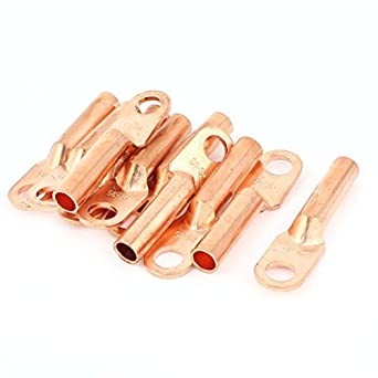 Compresión Conectores estirón de cobre eDealMax Con 10 Pieza Para 35 mm por Cable, 3