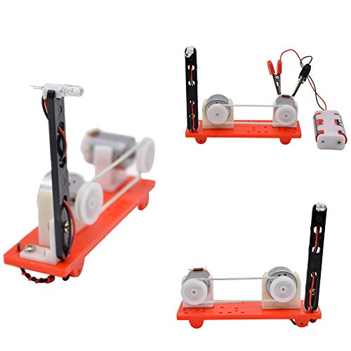 HsgbvictS Learning & Education Kids Science Physics Educational Toys DIY Mini Motor Energy Converter Model ()