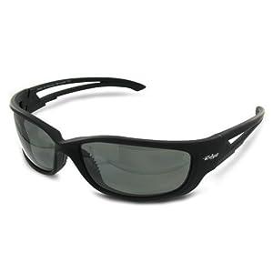 Tsk-Xl216 Black Frame / G-15 Silver Mirror Lens Sunglasses - Kazbek Polarized by Edge Safety Eyewear