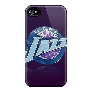 High-quality Durability Case For iPhone 5c(utah Jazz Logo)