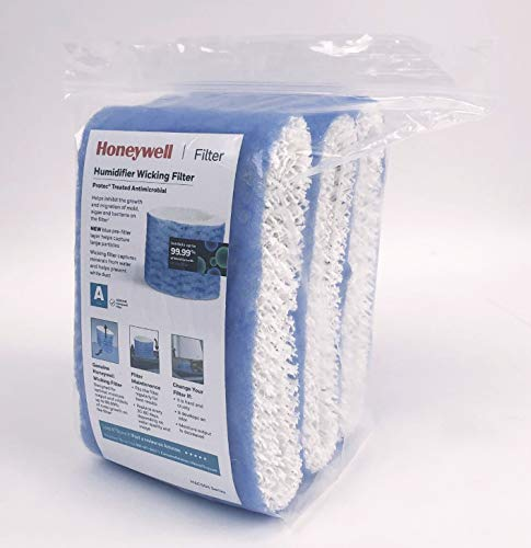 HONEYWELL Replacement Wicking Filter A, 3 Count, White
